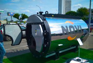 Модульная котельная на твердом топливе 100КВТ